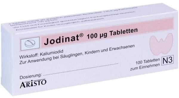 Jodinat 100 µg 100 Tabletten