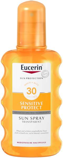 Eucerin Sun 200 ml Spray transparent LSF 30