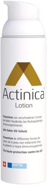 Actinica Lotion im Dispenser Sehr hoher UV-Schutz- SPF 50+ 80 g Lotion