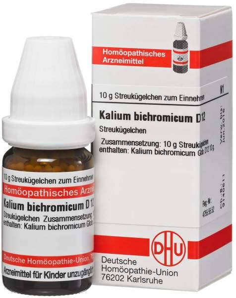 Kalium bichromicum D12 DHU 10 g Globuli