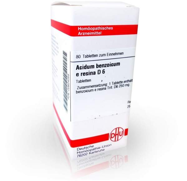 Acidum Benzoicum E.Res. D 6 Tabletten