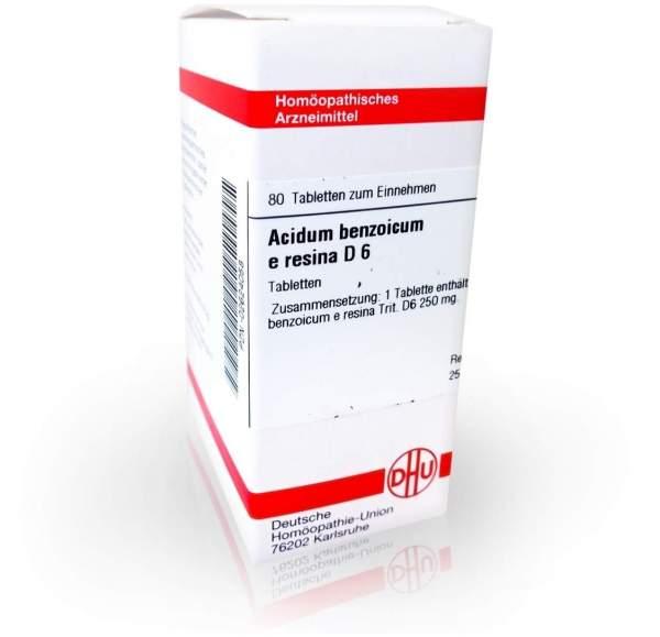 Acidum Benzoicum E.Res. D 6 Tabletten