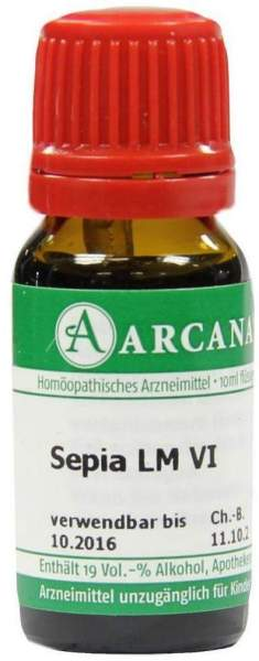 Sepia Lm 6 Dilution 10 ml