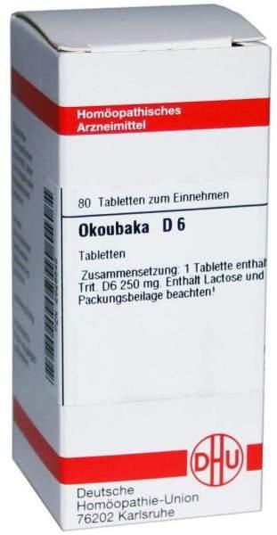 Okoubaka D 6 80 Tabletten