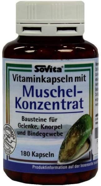 Grünlipp Muschel Konzentrat 180 Kapseln