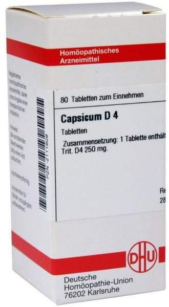 Capsicum D 4 80 Tabletten
