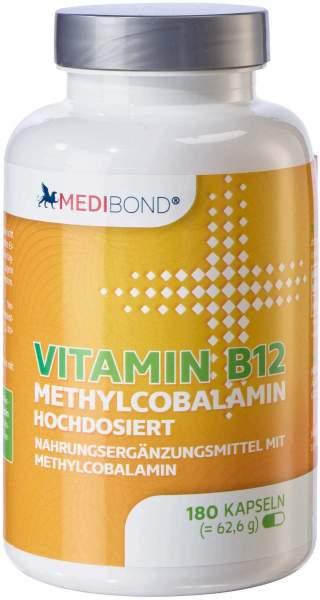 Vitamin B12 Methylcobalamin Medibond 180 Kapseln