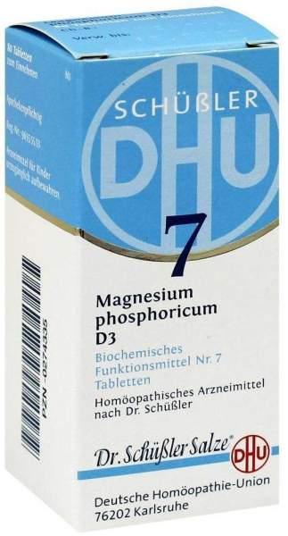 Biochemie Dhu 7 Magnesium Phosphoricum D3 80 Tabletten