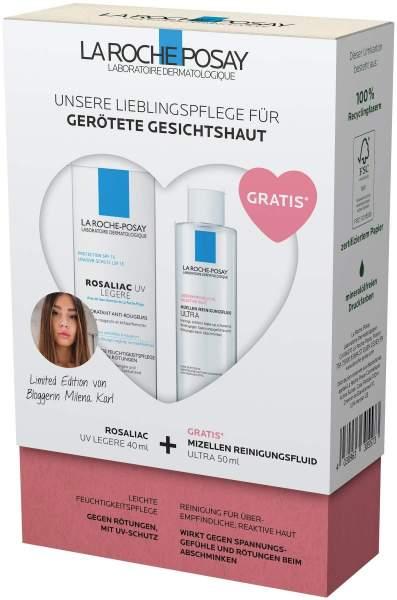 La Roche Posay Rosaliac UV Routineset + gratis Reactive Mizellen Reinigungsfluid 50 ml