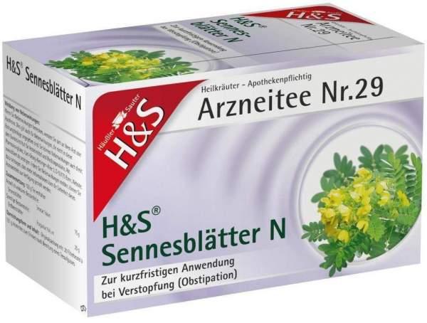H&S Sennesblätter N 20 Filterbeutel