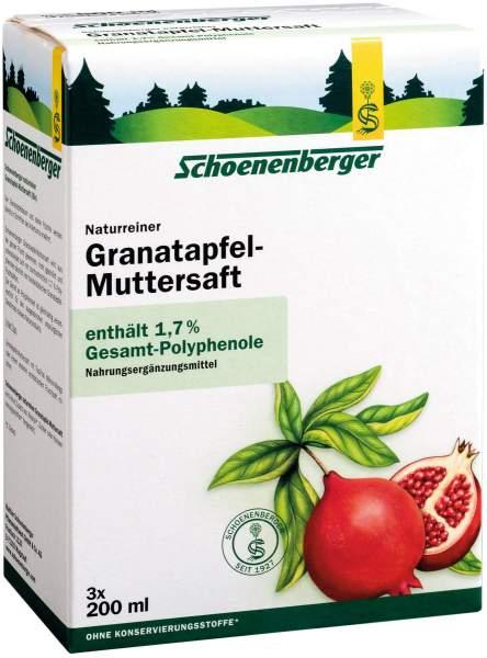 Granatapfel Muttersaft Schoenenberger Heilpflanzensaft 3 X 200...