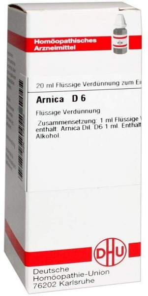 Arnica D6 20 ml Dilution