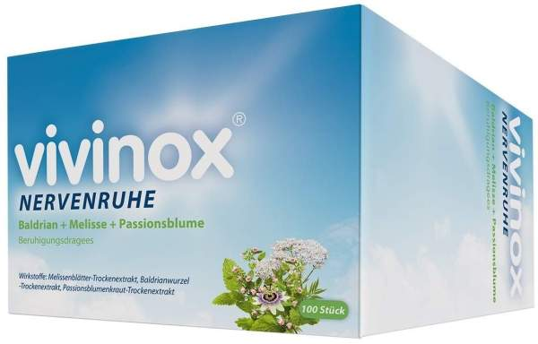 Vivinox Nervenruhe Beruhigungsdragees 100 Stück