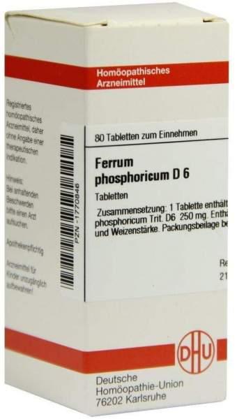 Ferrum Phosphoricum D 6 80 Tabletten