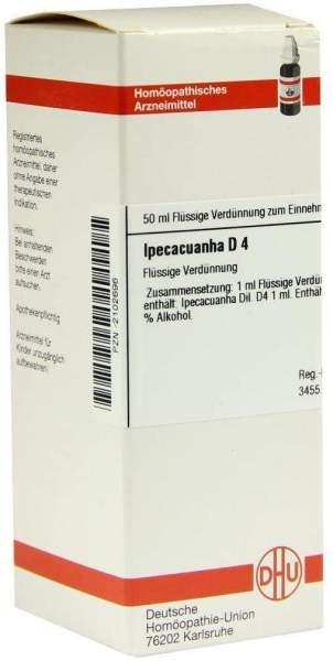 Ipecacuanha D 4 50 ml Dilution