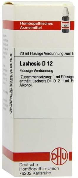 Lachesis D 12 20 ml Dilution