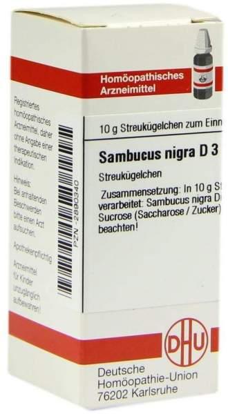 Sambucus Nigra D3 10 G Globuli