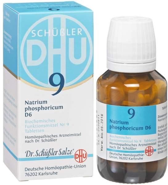 Biochemie DHU 9 Natrium phosphoricum D6 80 Tabletten