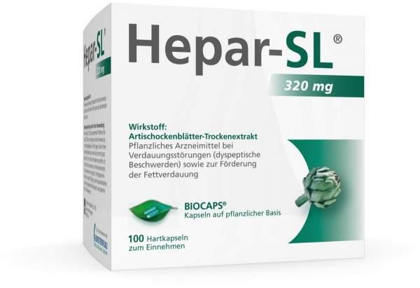 Hepar SL 320 mg 100 Hartkapseln