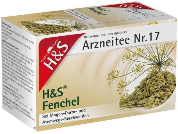 H&S Fencheltee 20 Filterbeutel