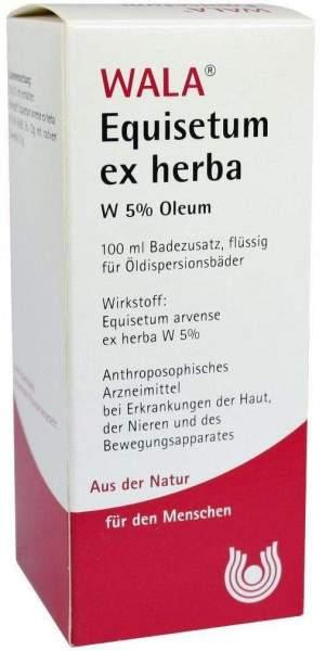 Wala Equisetum Ex Herba W 5% Oleum Badezusatz