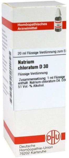 Natrium Chloratum D 30 20 ml Dilution
