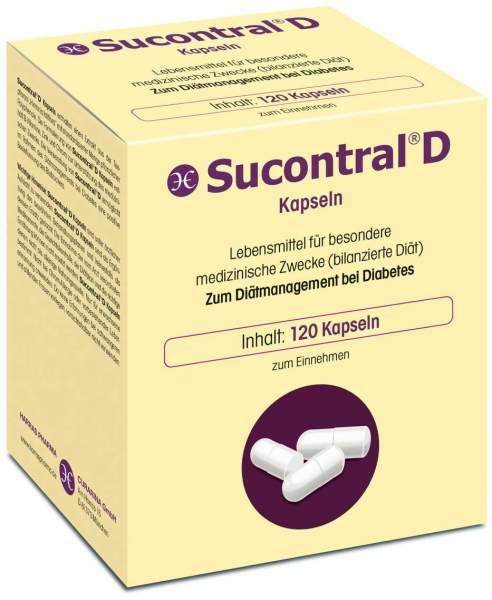 Sucontral D Diabetiker 120 Kapseln