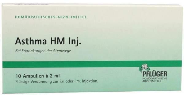Asthma Hm Inj.10x2 ml Ampullen