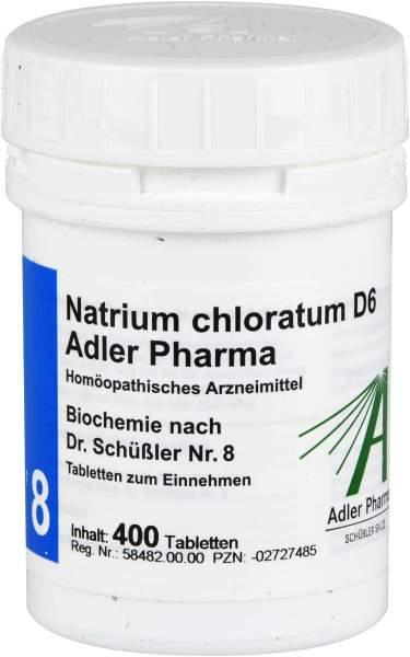 Biochemie Adler 8 Natrium Chlor. D6 400 Tabletten