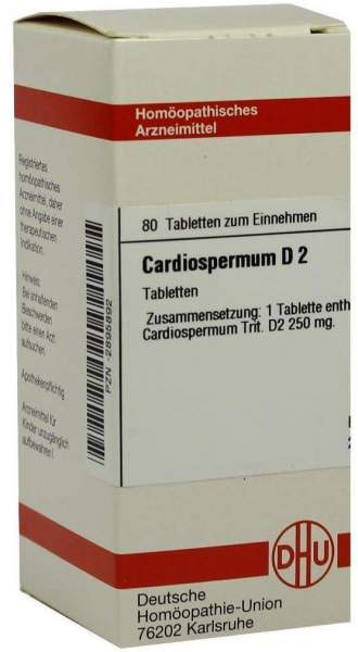 Cardiospermum D2 80 Tabletten