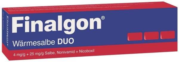 Finalgon Wärmesalbe Duo 4 mg je g + 25 mg je g 20 g Salbe
