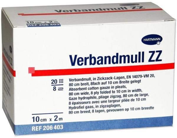 Verbandmull Hartmann 10 cm x 2 m Zickzack 1 Verband