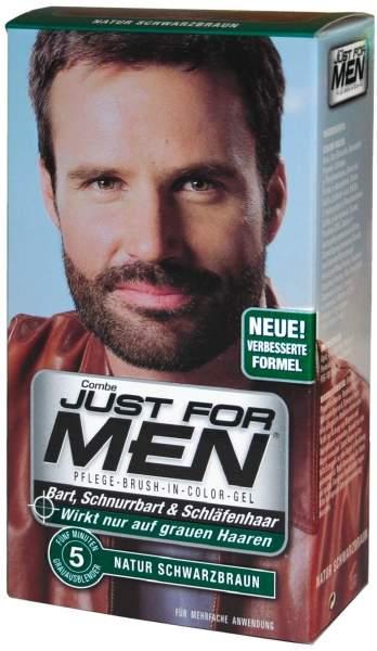 Just For Men Brush in Color Gel Schwarzbraun 28,4 ml Gel