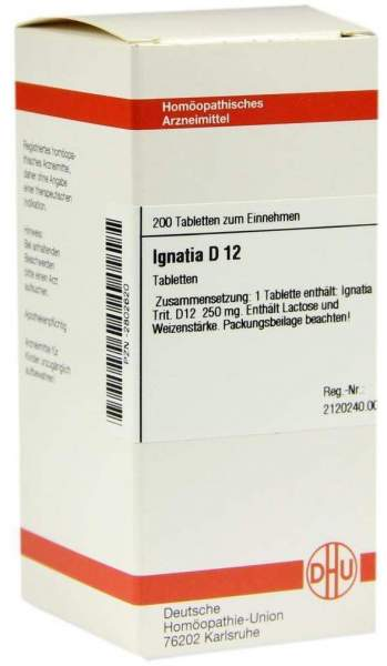 Ignatia D 12 200 Tabletten