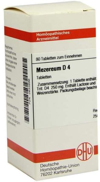 Mezereum D4 80 Tabletten
