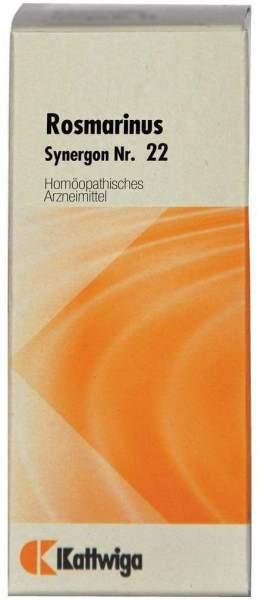 Synergon 22 Rosmarinus Tropfen 20 ml Tropfen