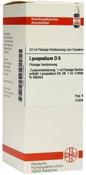 Dhu Lycopodium D6 50 ml Dilution