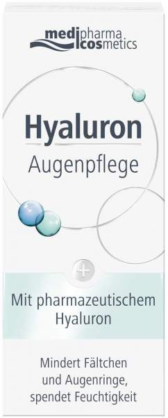Hyaluron Augenpflege Creme 15 ml Creme