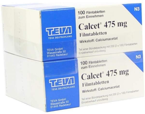 Calcet 475 mg 200 Filmtabletten