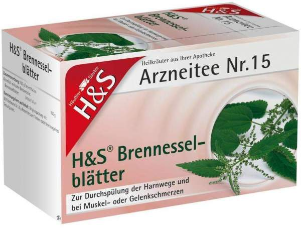 H&S Brennesselblättertee 20 Filterbeutel