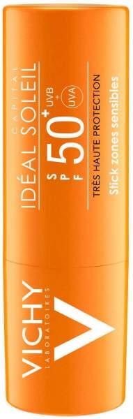 Vichy Ideal Soleil Sonnenschutz-Stick für empfindliche Hautpartien LSF50+ 9 g Stift