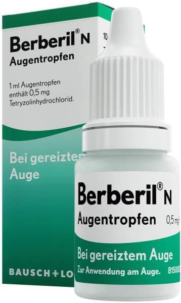 Berberil N Augentropfen 10 ml Augentropfen