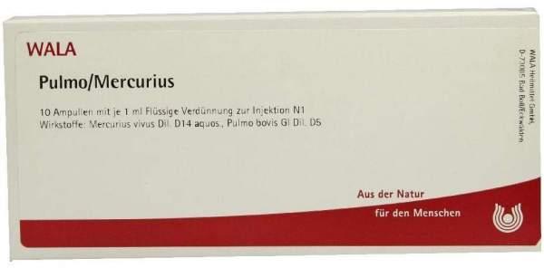 Pulmo Mercurius 10x1 ml Ampullen