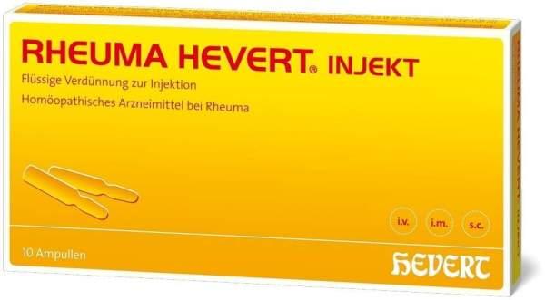Rheuma Hevert Injekt 10 X 2 ml Ampullen