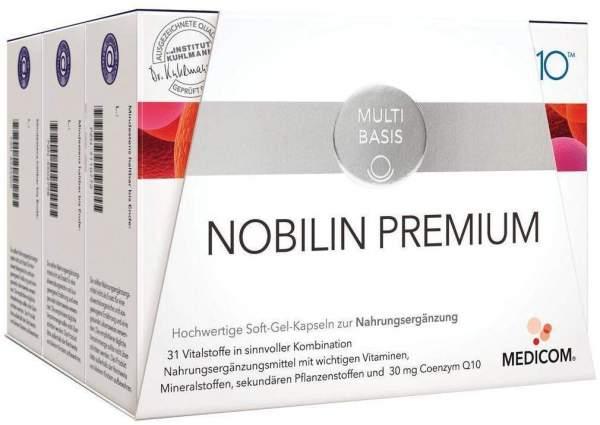 Nobilin Premium Kombipackung 3 X 60 Kapseln