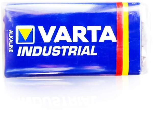 9 V Block Varta Industr. Batterie