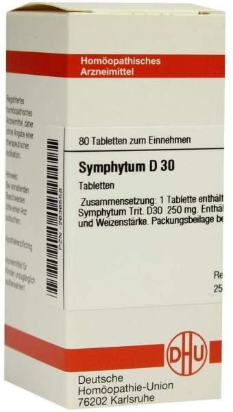 Symphytum D 30 80 Tabletten