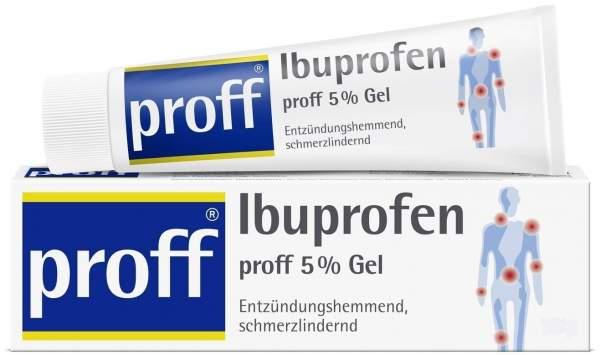 Ibuprofen Proff 5% Gel 50 G