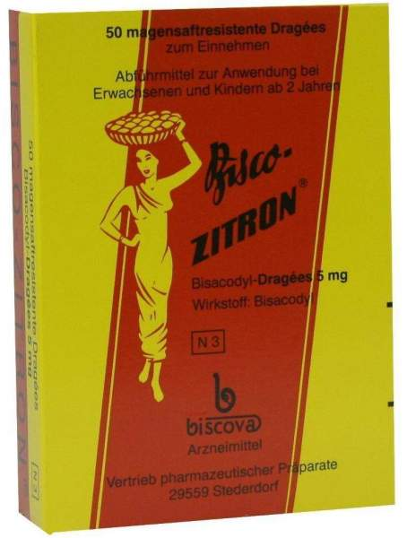 Bisco Zitron 50 Dragees