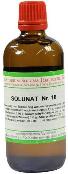 Solunat Nr.18 100 ml Tropfen